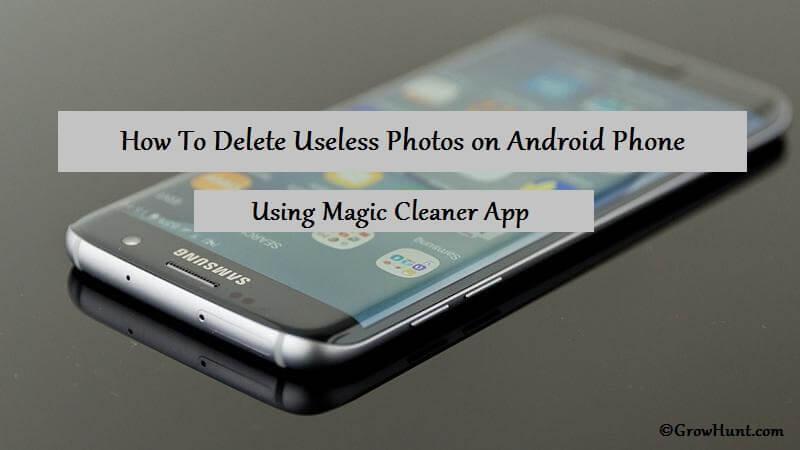 Delete Useless Photos