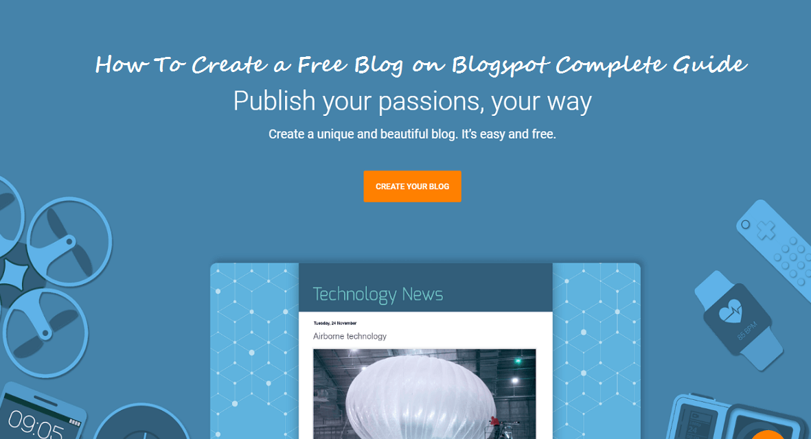 How to create free blog