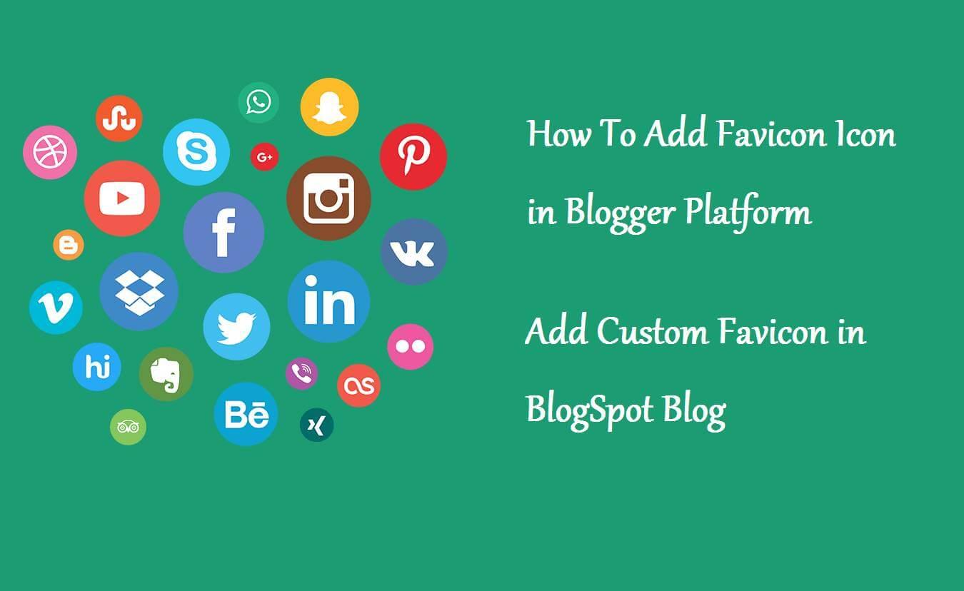 set fevicon on blogger