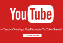 youtube channel name tips