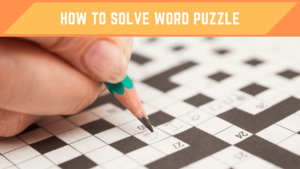 Solve Word Puzzle