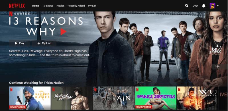 Netflix Browse