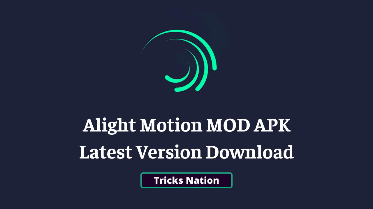 Alight Motion MOD APK (No Watermark, Premium Subscription Unlocked)