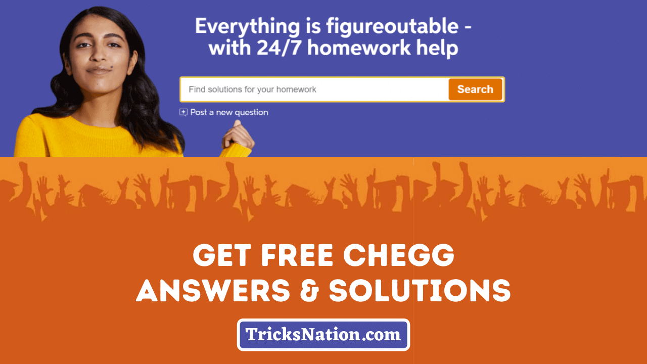FREE Chegg Answers & Solutions | Unblur Chegg Questions in 2021